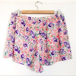 Vintage Victoria's Secret | Floral Shorts